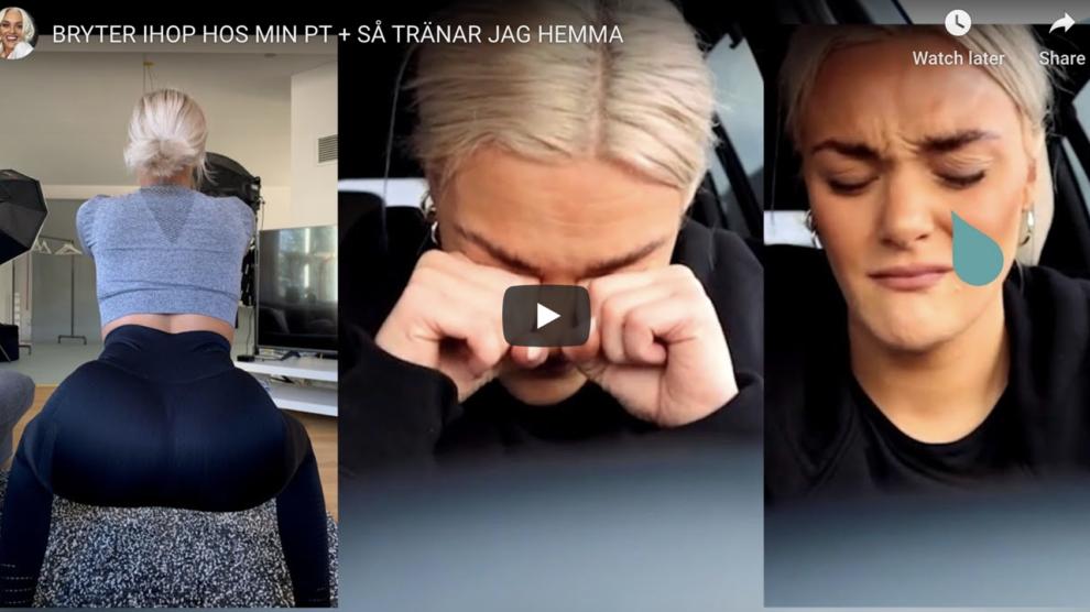 BRYTER IHOP HOS MIN PT + SÅ TRÄNAR JAG HEMMA